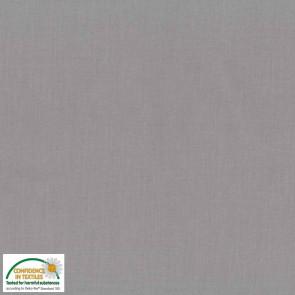 Baumwolle uni grau    Ökotex Standard 100