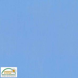 Baumwolle uni hellblau Ökotex Standard 100
