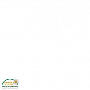 Baumwolle uni weiß Ökotex Standard 100