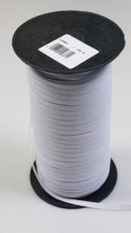 Flachelastik 5mm weiß