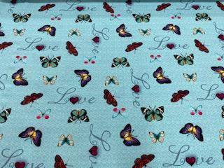 Schmetterlinge türkis nur solange Vorrat reicht!