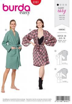 Burda 6161 Kimono