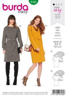 Burda 6180 Kleid