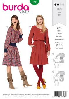 Burda 6190 Kleid
