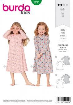 Burda 9291 Kinderkleider