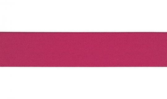 Gummiband 30mm pink