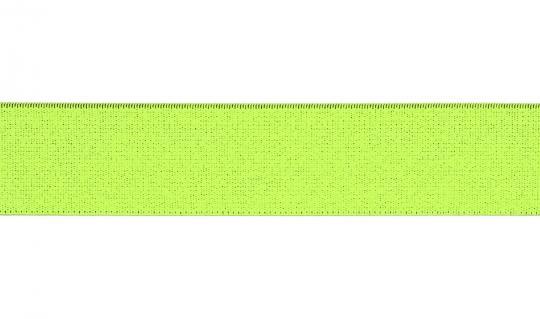Gummiband 30mm neon gelb