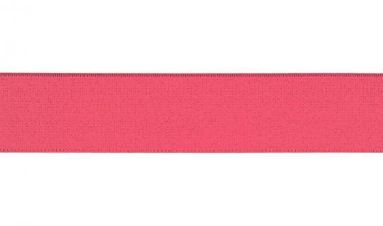 Gummiband 30mm neon pink