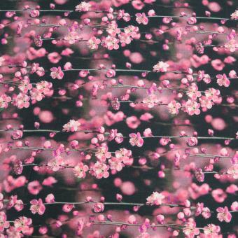Digitalersey Blütenträume khaki-rosa
