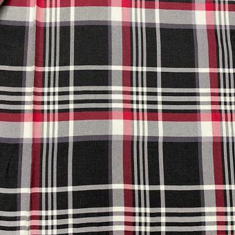 Blusen-Karo rot-schwarz-weiß