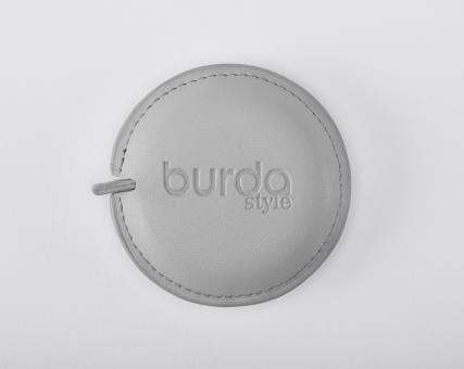 Rollmaßband Jubiläum - grau BURDA