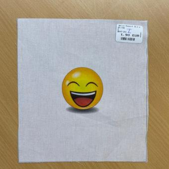 Smiley Rapport 18,5 x 20,5cm