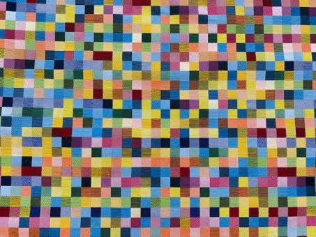 Jacquard  KARO multicolor     1,7x1,7cm