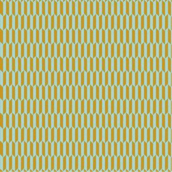 grafisches Muster ocker-mint nur solange Vorrat reicht!
