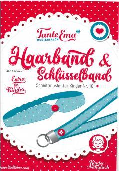 Schnittmuster für KINDER Haarband & Schlüsselband  Nr.10