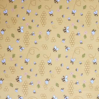 Bienen, Blümchen, Waben gelb nur solange Vorrat reicht!