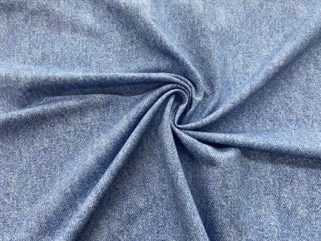 French Terry  Jeans-Optik hellblau noch 3,8m vorrätig