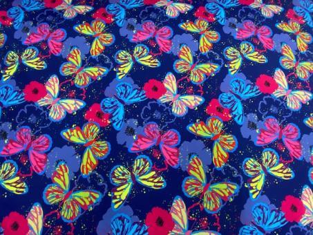 Softshell Schmetterlinge blau-pink nur solange Vorrat reicht!!