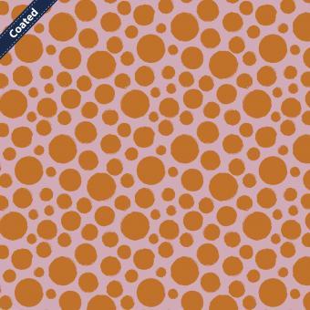 Tupfen  beschichtete BW orange-rosa