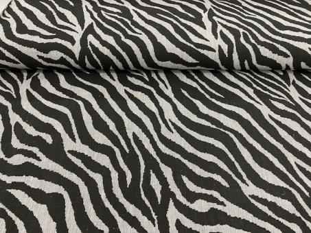 Leinendruck Tiger schwarz-grau nur solange Vorrat reicht!