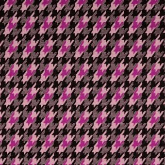 Hahnentritt Strick pink-rose nur solange Vorrat reicht!!
