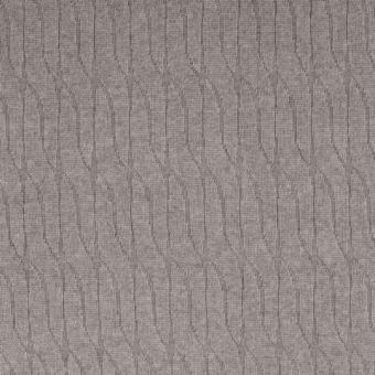 Jacquard Strick-Jersey grau nur solange Vorrat reicht!!