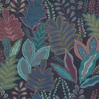 Velvet Deluxe bedruckt Botanic art