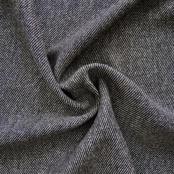 Woll-Tweed schwarz-weiß