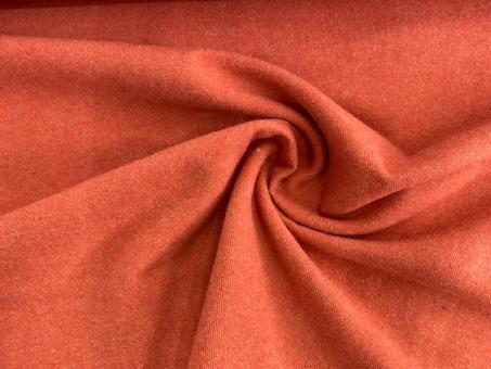 Woll-Walk  Uni lachs-orange