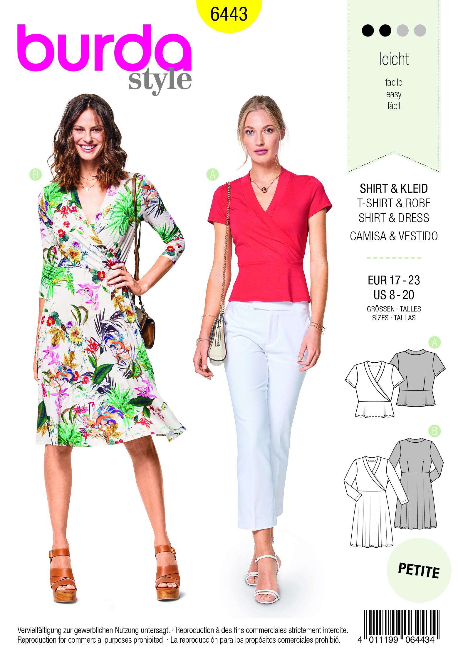 stoffversand | burda shirt & kleid | online kaufen