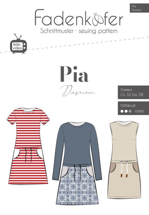 Esro Jersey | PIA Kleid Damen von Fadenkäfer | online kaufen